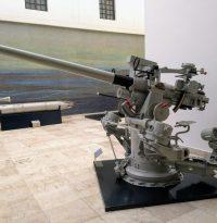 Cañon Mark-2 en el museo naval de veracruz
