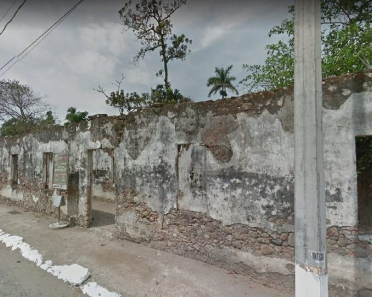 Caballeriza de Santa Ana en la antigua Veracruz