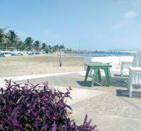 Playa Martí en Veracruz Puerto